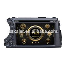Directo de fábrica sistema de muela del coche TV de radio para Ssangyong Actyon con GPS / Bluetooth / Radio / SWC / Virtual 6CD / 3G internet / ATV / iPod / DVR
