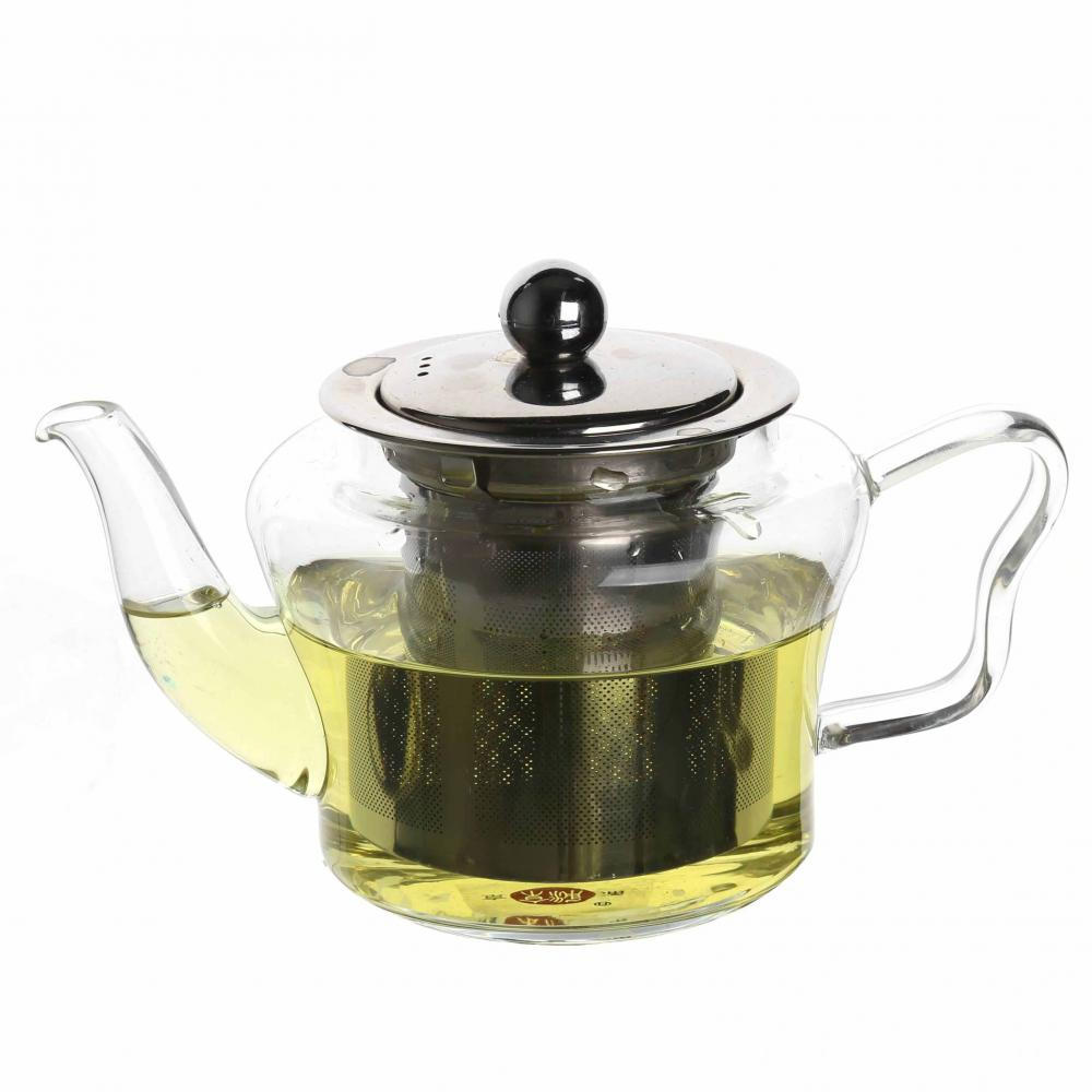 Handmade High Quality Borosilicate Glass Teapot