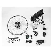Kit de vélo de vélo électrique de 24V 36V 48V avec le moteur de roue adapté sans brosse et la batterie au lithium d'OEM