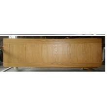 Puerta de madera compuesta interior agradable