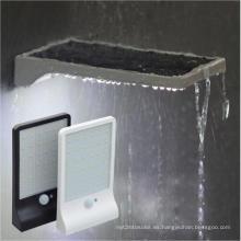Impermeable IP65 3.8 W Solar Powered LED luces de pared