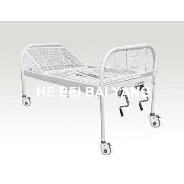 A-137 Alle Plastik-Spray-Doppel-Funktions-Handbuch Krankenhaus Bett