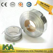 Alambre espiral para la fabricación de uñas