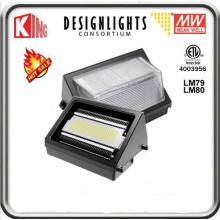 Paquet de mur de lumière de paquet de mur de mur de 150W LED LED Pack Meanwell puissance et CREE Xte LED puce CE ETL Dlc