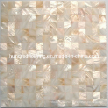 Natural Color Mother of Pearl Shell Mosaic Tile (HMP68)