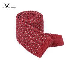 Latest Custom Made Digital Printed Silk Knitted Neck Tie Men