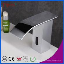 Robinet automatique de capteur de cascade de bec oblique de vente chaude de Fyeer (QH0128B)