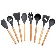 Juego de utensilios de cocina de silicona de 8 piezas