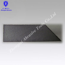 Angle high density hand hard foam sanding block for metal
