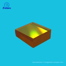 Import USA ZnSe windo ZnSe lentille de mise au point pour laser Machine de découpe Co2