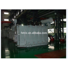 Three phase oil immersed 63kV 69kV 40mva transformer