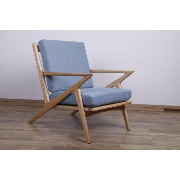 Fabric Selig Z Mid Century Lounge Chair Replica