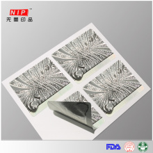 Profissional de Design 3d holograma tecnologia adesivos
