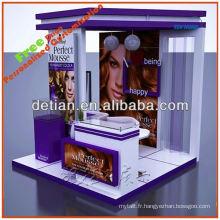 système de système d'exposition modulaire portable pour le salon expose la construction du fabricant original