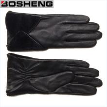 Wholesale Cheap Fashion Winter Warm PU Leather Glove