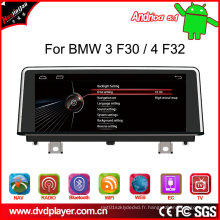 """Car MP3 Player 10.25 """"Android4.4 Connexions téléphoniques pour BMW 3/4 / F30 / F32 Radio GPS Navigatior OBD"""