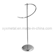 Neueste Style 29 Ball Chrome Clothes Spiral Display Rack
