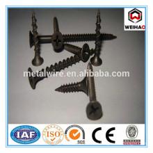 high strength phillips bugle head 3.5x25 black drywall screw