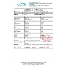 Grado alimenticio NO GMO ISP Proteína aislada de soja para la nutrición deportiva CAS # 9010-10-0
