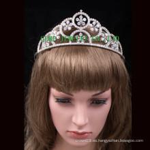 Corona cristalina de las nuevas tiaras del rhinestone de la corona