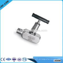 Válvula de agulha de alta pressão de alta freqüência