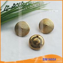 Botón de metal para uniformes militares BM1688