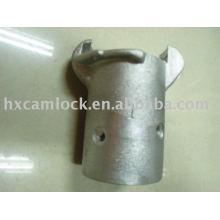Accouplements de sablage en aluminium