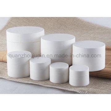 OEM White PP 3/5/10/15/30/50/80g Cream Cosmetic Jar with Cap
