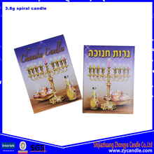 Israel Small Box 3.8G Jewish Candle