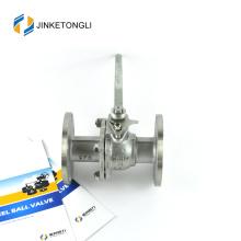 JKTLFB024 ferro fundido a216 wcb 2pc lida com válvula de esfera dn80