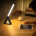 2017 promotion ipuda intérieur / extérieur mince naturel lampe de table en cuir stable