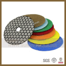 Qualitäts-100mm Strudel-nasse Marmor-Diamant-Polierauflagen