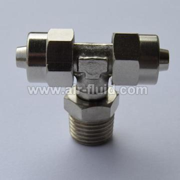 Branch Tee Male Adaptor  Rapid Push-over Tubing Fittings