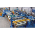 Steel strip slitting line