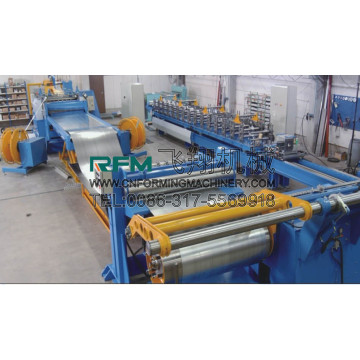 Automatic aluminum coil slitting machine