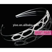 Novo estilo de alta qualidade bridal acessórios de cabelo de cristal