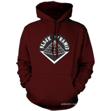 Organic Hoodie Fashion Popular Hooded Sweatshirt Fitted Cotton Hoody