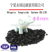 Food grade coconut activated carbon for water purification