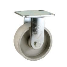 H12 Tipo de serviço pesado Tipo fixo Rolamento de esferas duplo Roda de roda de ferro fundido completo