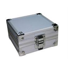 NEU Aluminium Silber Tattoo Drehpistole Maschine Griff Rohr Spitze Box Case Kit Versorgung