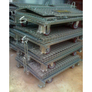 Wholesale metal storage wire mesh container