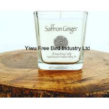 Unique Scented Jar Soy Candle - Saffron Ginger
