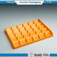 Emballage en plastique à base de chocolat
