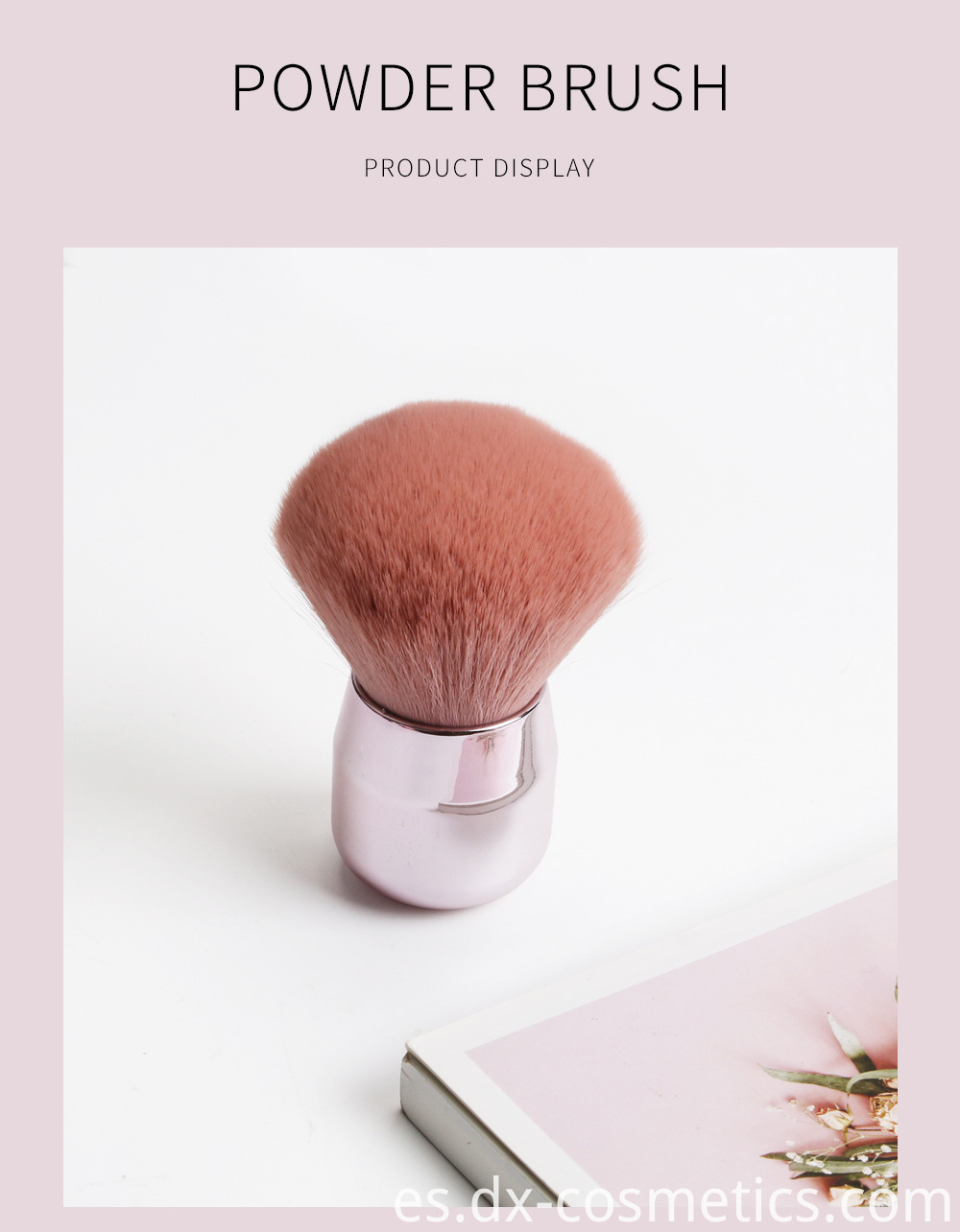 Round Loose Powder Brush 4