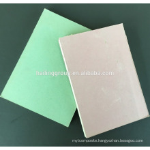 Waterproof Paper Faced Gypsum Board Price