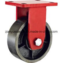 Amerika Modell Kingpin Weniger Extra Heavy Duty Starre Caster, Iron Wheel
