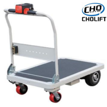Electric platform cart for material handing