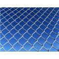 Decoration Anti Climb PVC Coated Chain Link Fence
