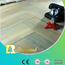 Plancher Lamiante gaufré par chêne gaufré commercial de 12.3mm