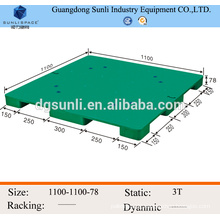 single side flat top light duty shipping pallet